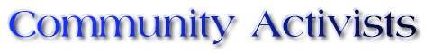Community Activist logo